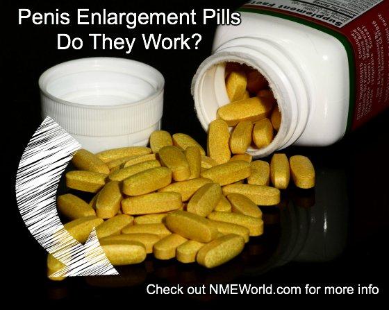 do penis enlargement pills work